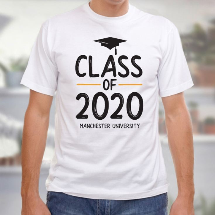 Personalised Class Of Graduation Male T-Shirt product image