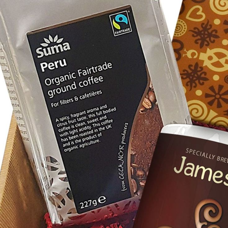 Personalised Coffee Hamper product image