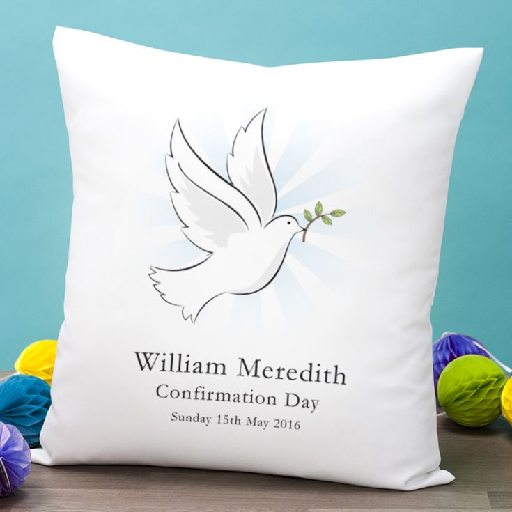 Personalised Confirmation Day Cushion product image