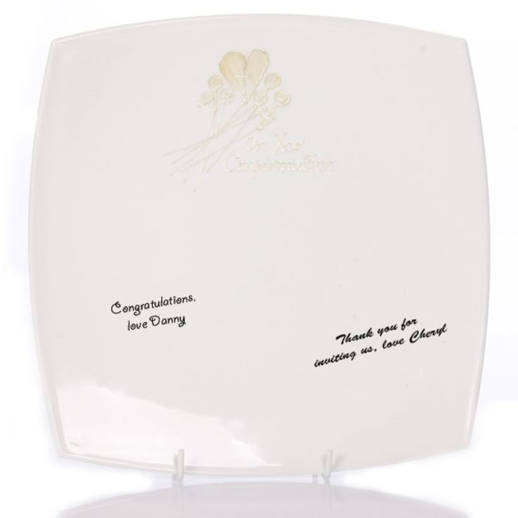 Confirmation Signature Plate product image