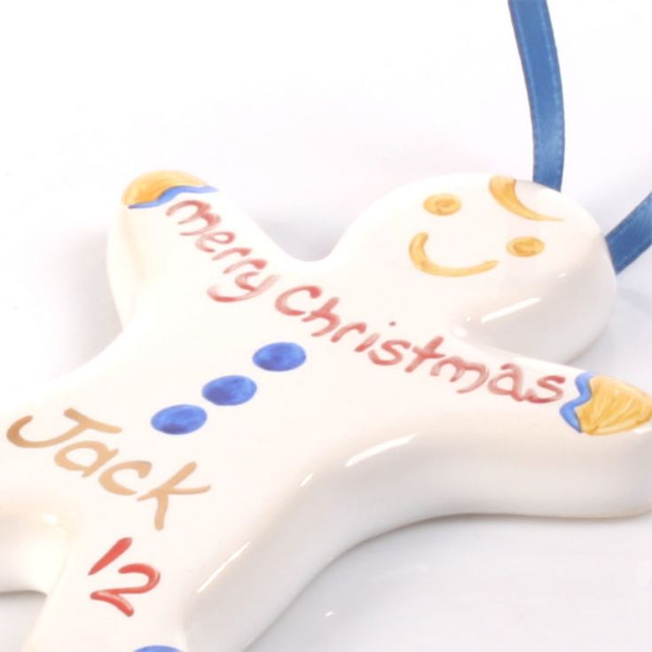 Gingerbread Boy Christmas Tree Decoration product image