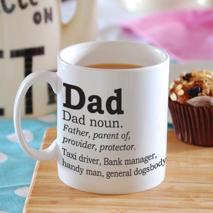 Dad Dictionary Definition Personalised Mug product image
