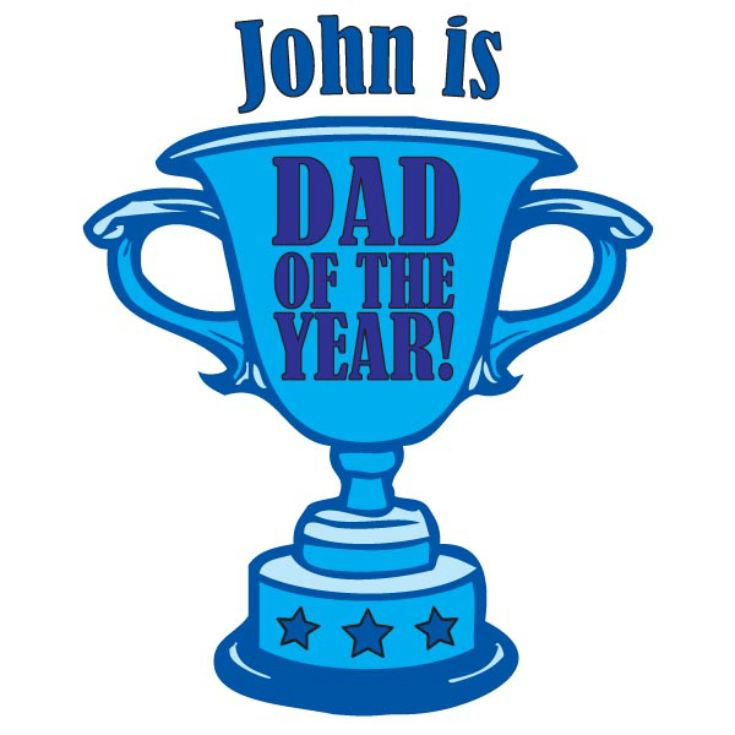 Dad of the Year Personalised Mug product image