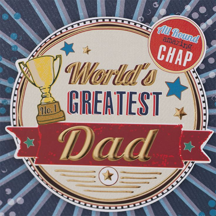 Worlds Greatest Dad Photo Frame product image