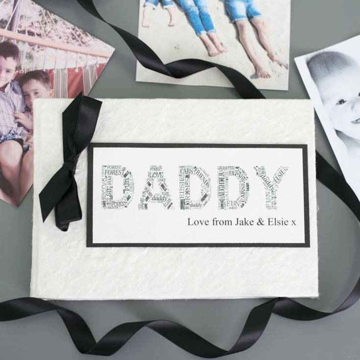 Daddy and Me/Us Personalised Photo Album product image