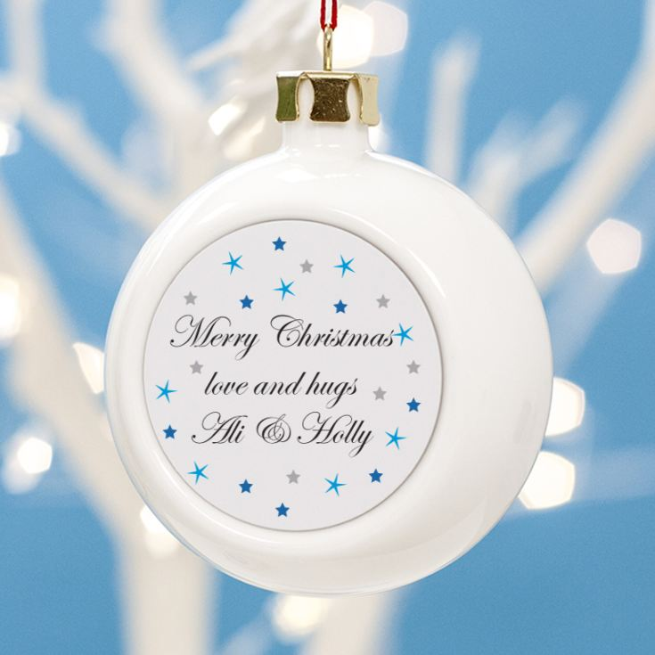 Personalised Daddy Christmas Bauble product image