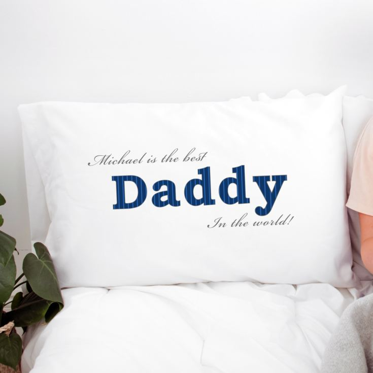 Personalised Daddy Pillowcase product image