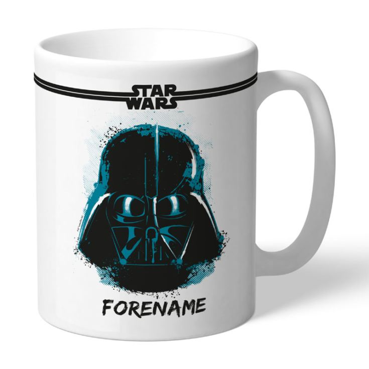 Personalised Star Wars Darth Vader Paint Mug product image