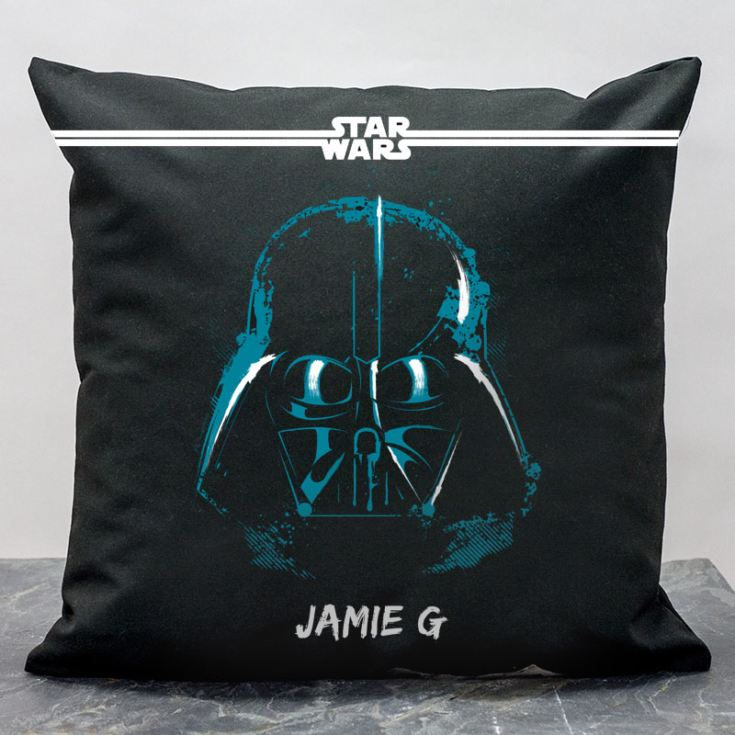 Personalised Star Wars Darth Vader Paint Cushion product image