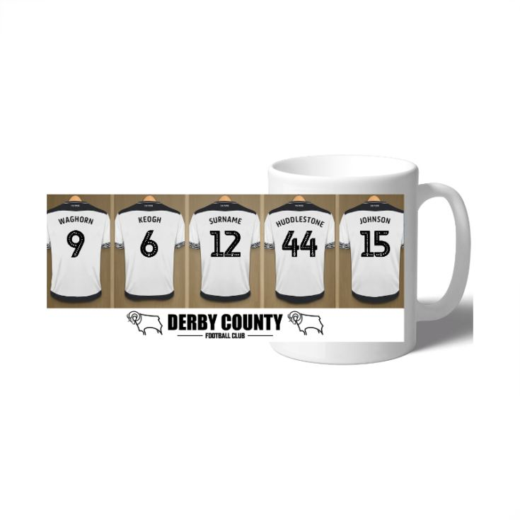 Personalised Derby County Dressing Room Mug product image