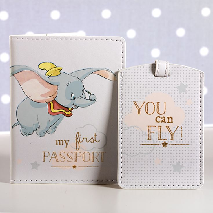 Disney My 1st Passport Holder And Luggage Tag Set product image