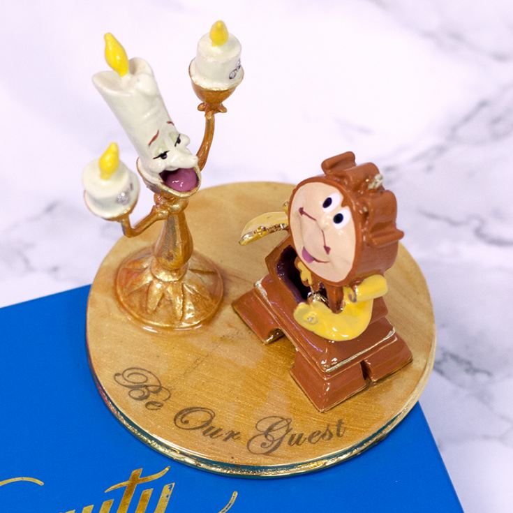 Lumiere And Cogsworth From Beauty And The Beast Ornament product image