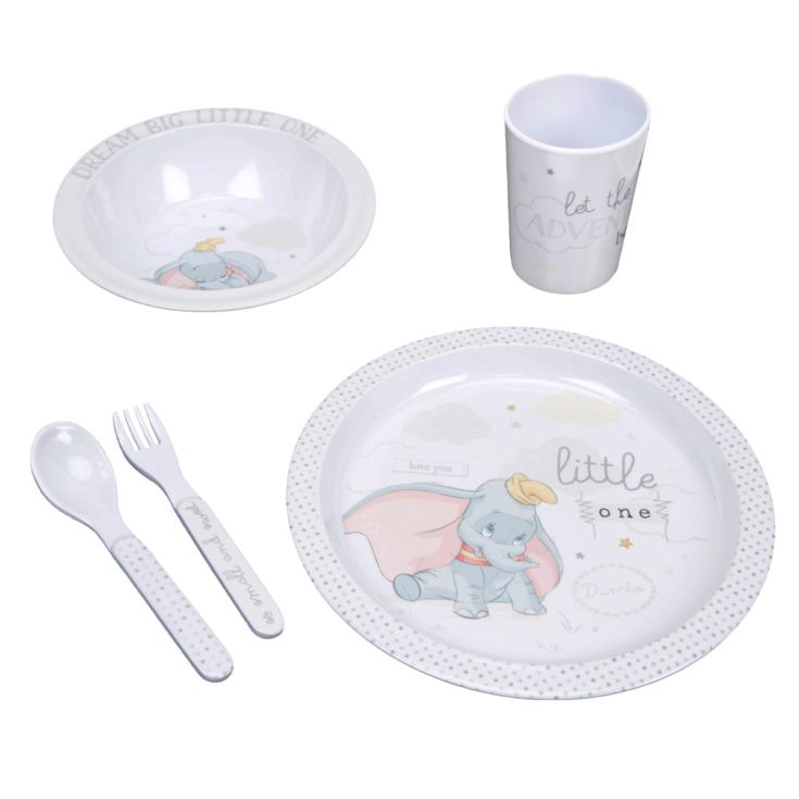 Dumbo 5 Piece Melamine Crockery Set product image