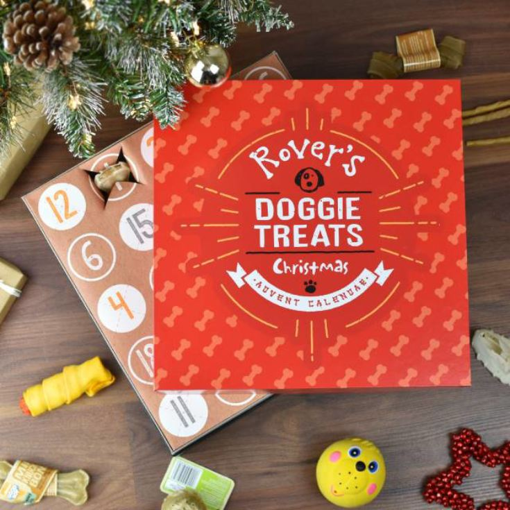 Personalised Dog Treats Advent Calendar product image