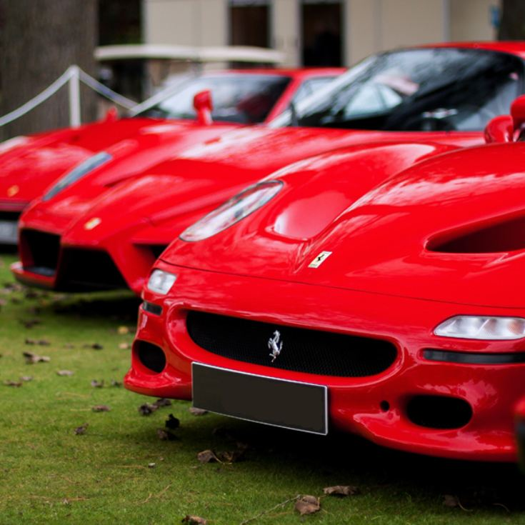 Double Supercar Driving Blast With High Speed Passenger