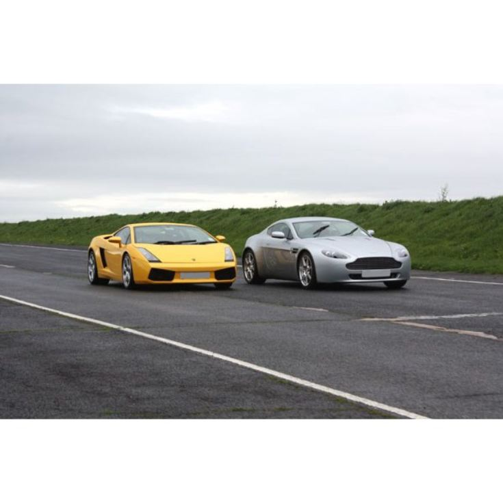 Junior Double Supercar and Rally Driving Thrill product image