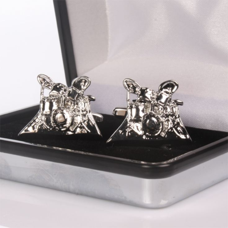 Personalised Drum Kit Cufflinks product image