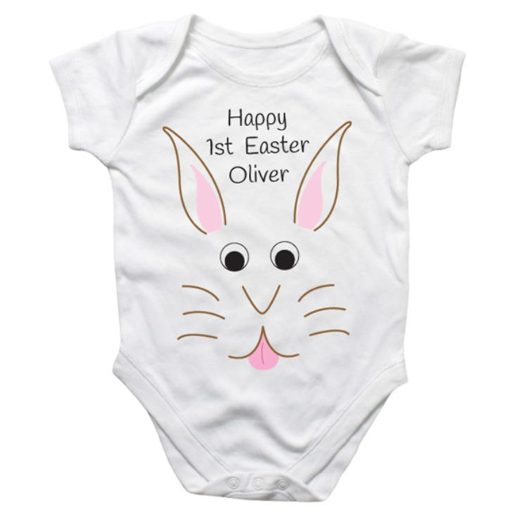 Easter Bunny Personalised Baby Grow product image