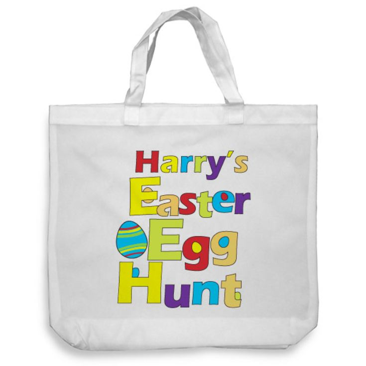 Personalised Easter Egg Hunt Tote Bag product image
