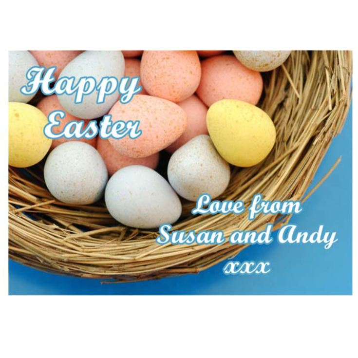 Personalised Easter Egg Jigsaw Puzzle product image