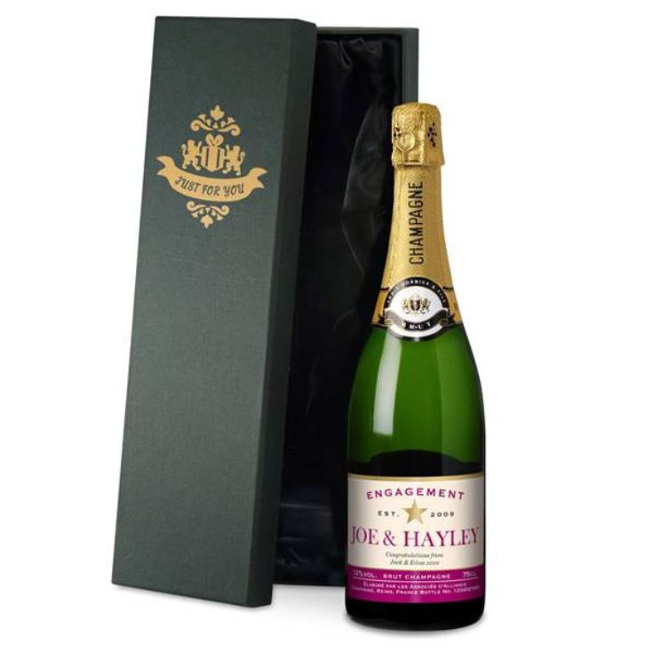 Personalised Engagement Champagne product image