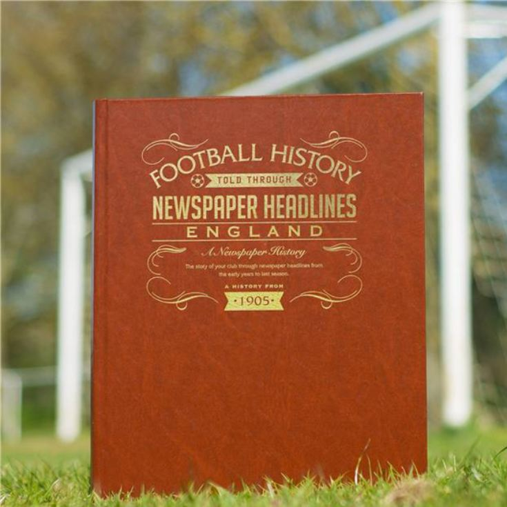 Personalised England Football Book product image