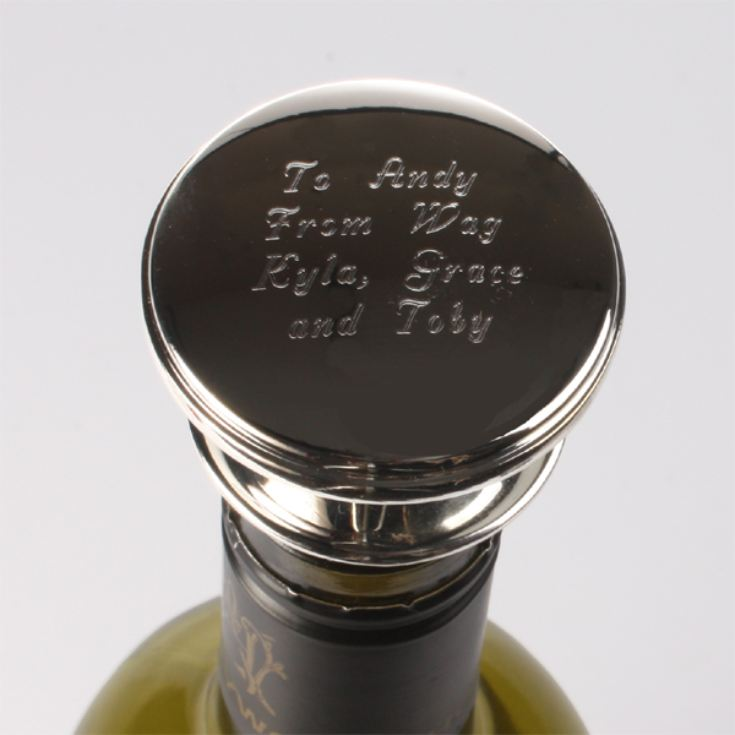 Personalised Wine Bottle Stopper product image