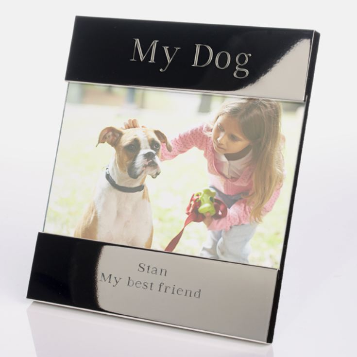 My Dog Engraved Photo Frame product image