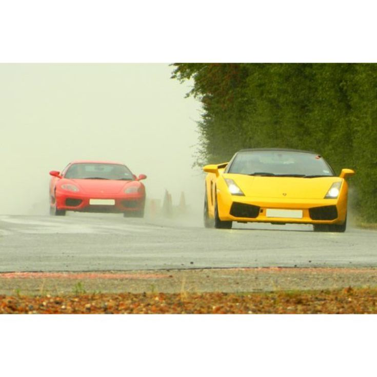 Ferrari and Lamborghini Driving Thrill with Passenger Ride product image