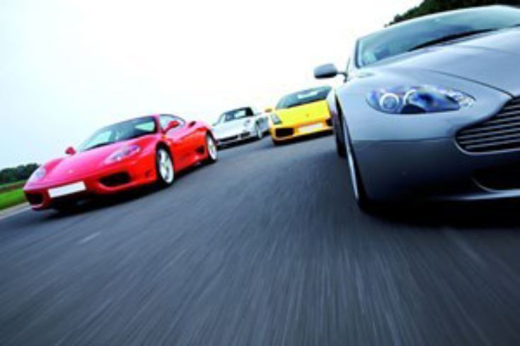 Four Supercar Driving Thrill with Passenger Ride - Weekends product image