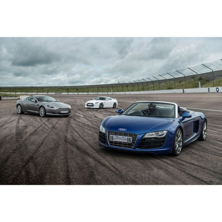 Triple Supercar Blast with High Speed Passenger Ride and Photo product image