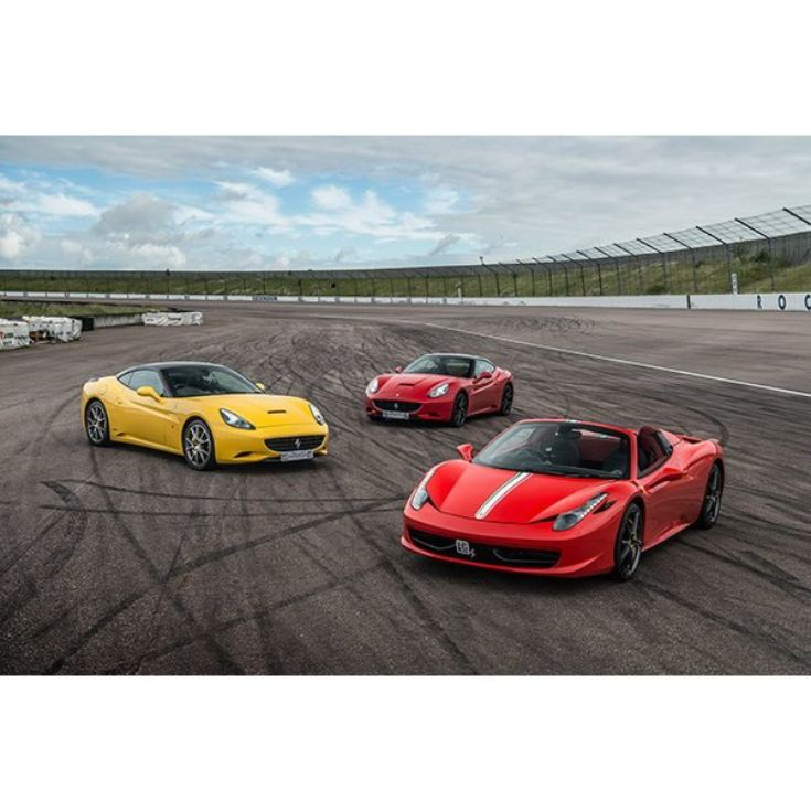 Triple Supercar Thrill With Free High Speed Passenger Ride
