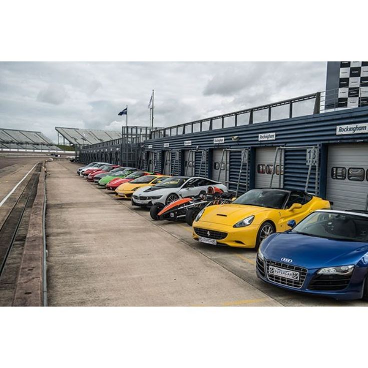 Five Supercar Driving Blast at Brands Hatch product image