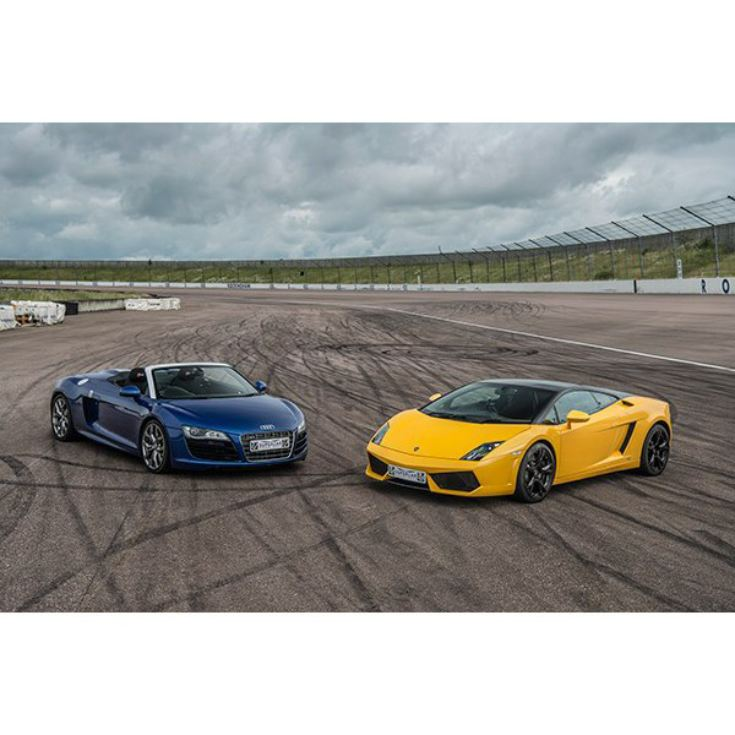 Double Supercar Thrill with Free High Speed Passenger Ride - Week Round product image