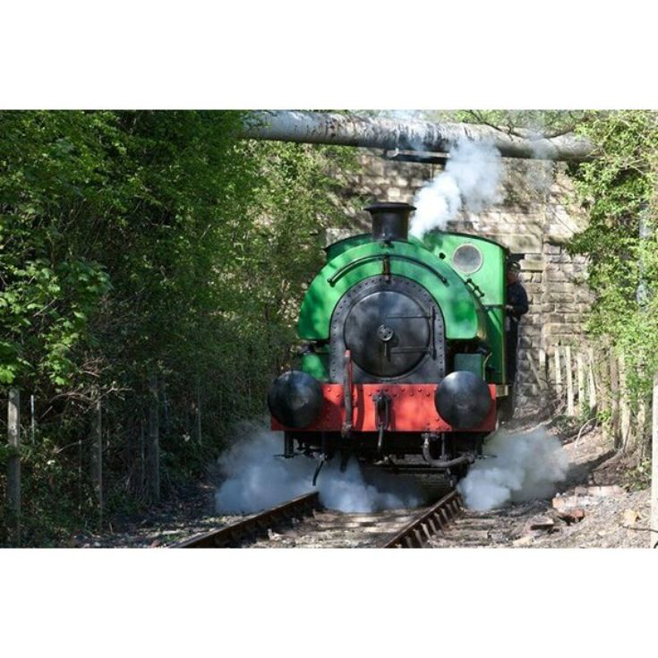 One Hour Introductory Steam Train Driving on the Elsecar Heritage Railway product image