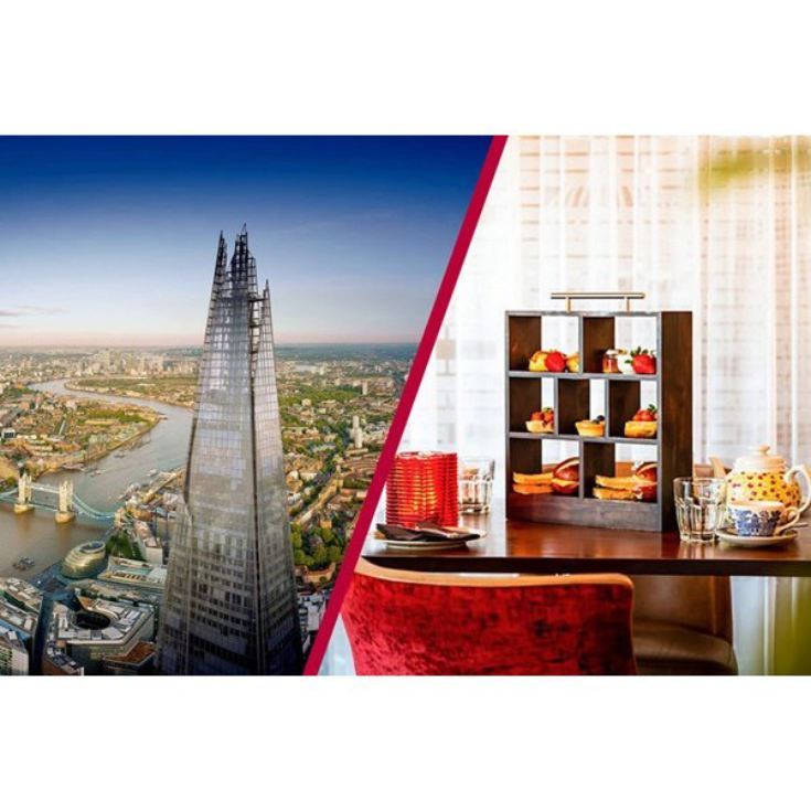 The View from The Shard and Afternoon Tea at Marco Pierre Whites New York Italian product image