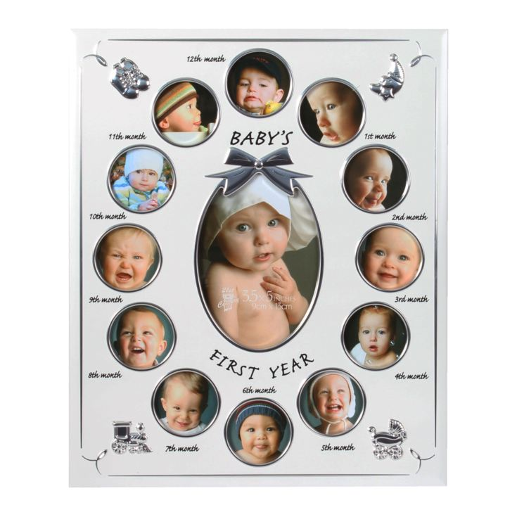 Celebrations Baby's First Year Collage Frame product image