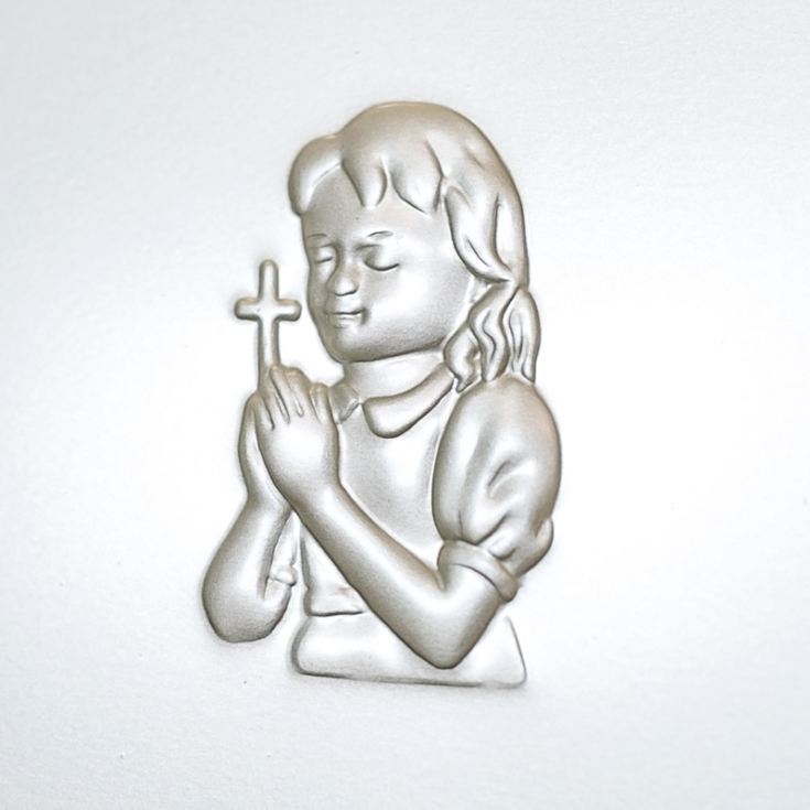 Personalised Praying Girl First Holy Communion Photo Frame product image