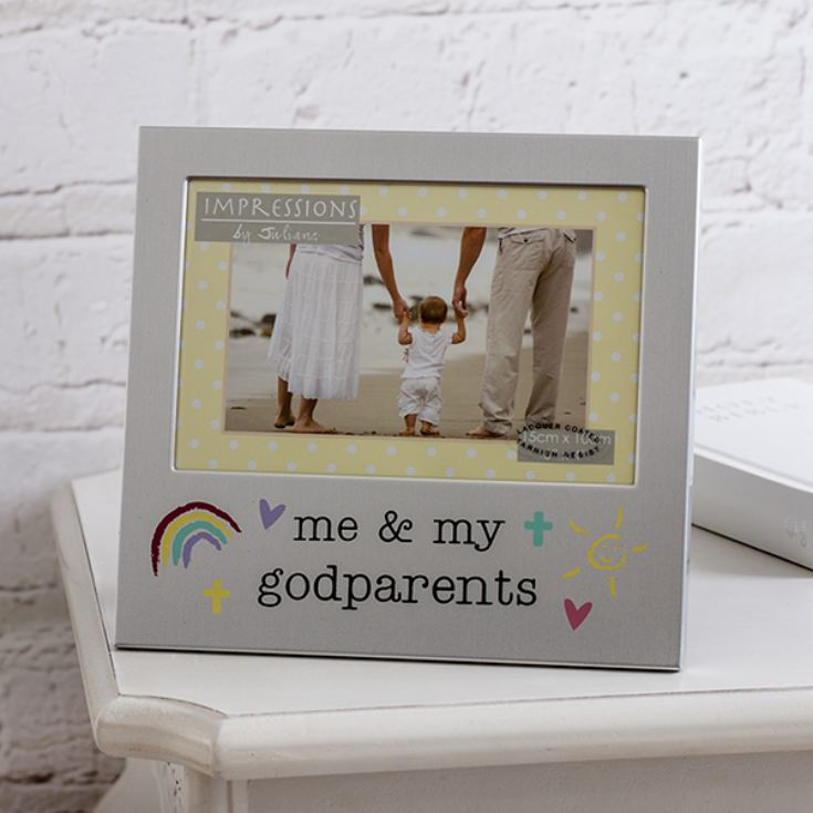 Me and My Godparents Photo Frame product image