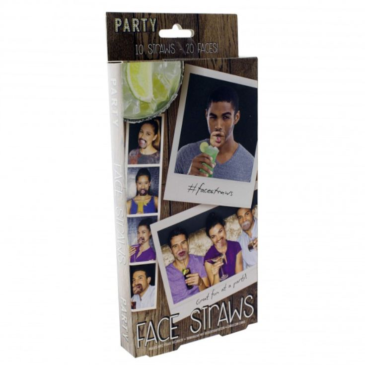 Face Straws product image