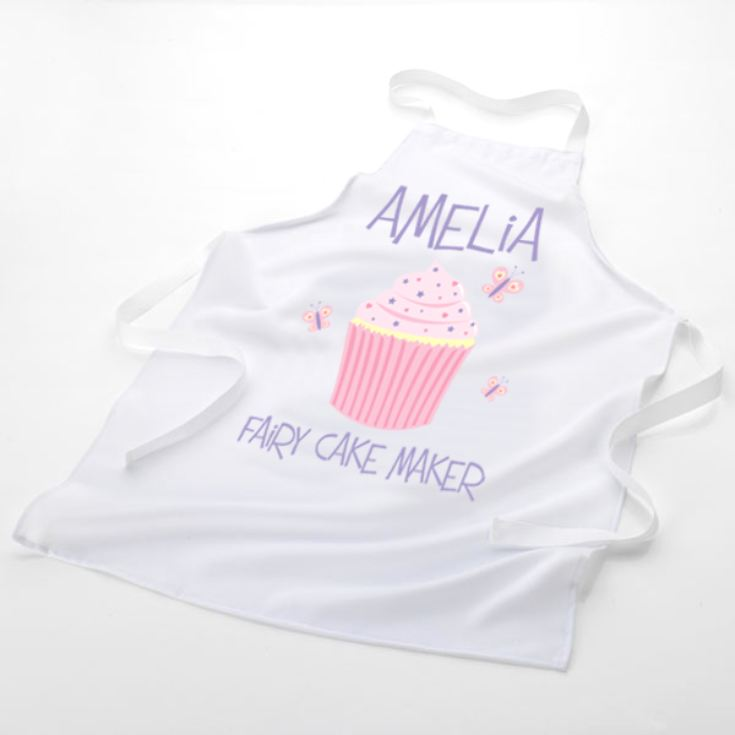 Personalised Fairy Cake Maker Children's Apron product image