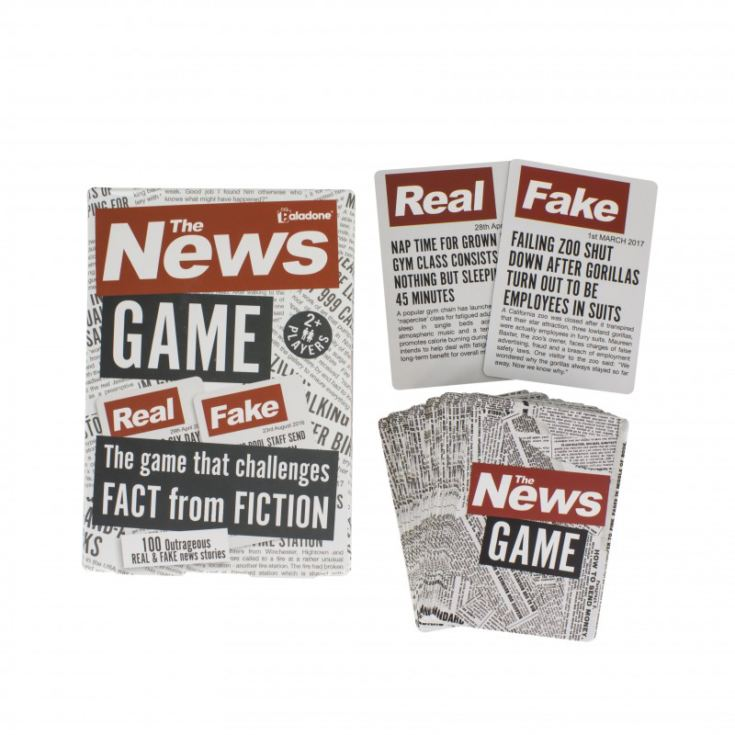 The News Game - Challenges Fact From Fiction product image