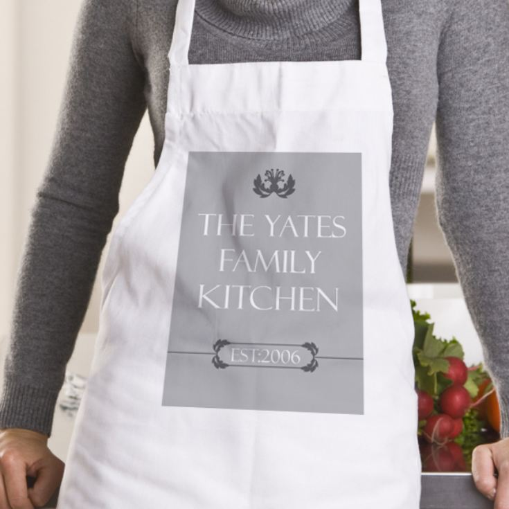 Family Kitchen Personalised Apron product image