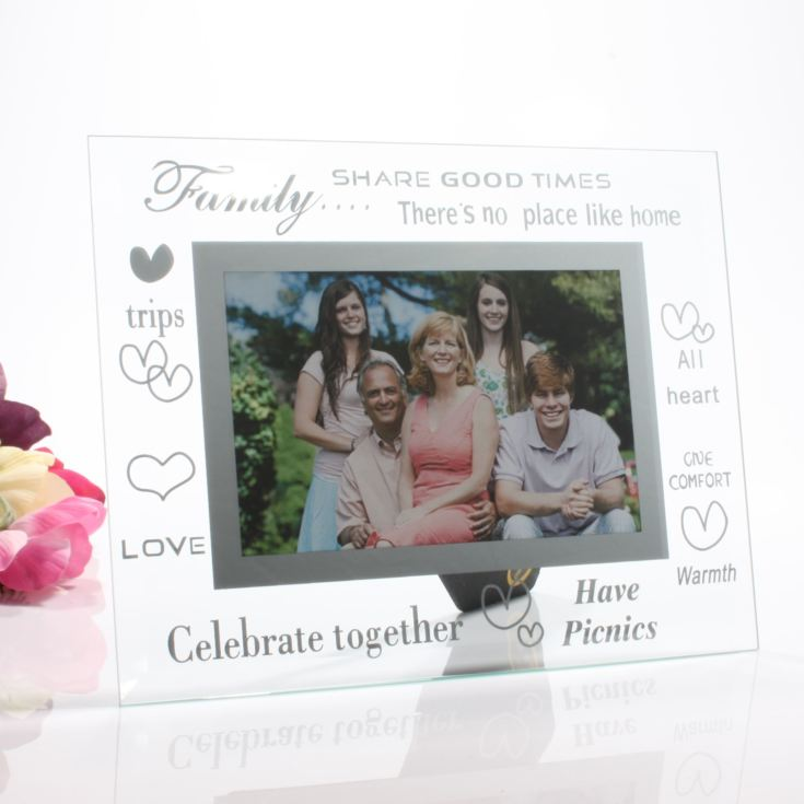 Moments Family Glass Frame product image