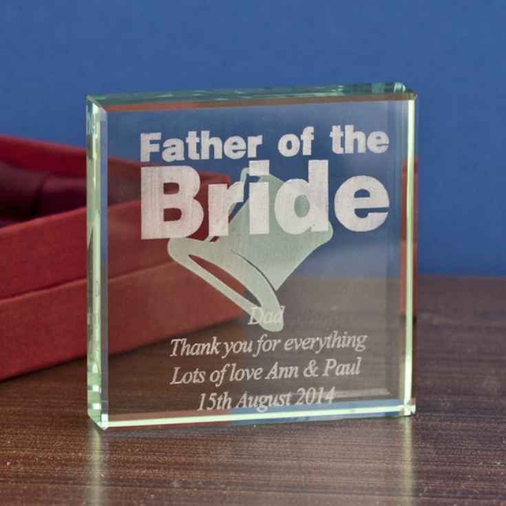 Father of the Bride Keepsake product image