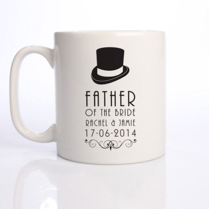Personalised Father of The Bride Mug product image