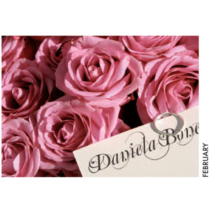 Personalised All Things Pink Calendar product image