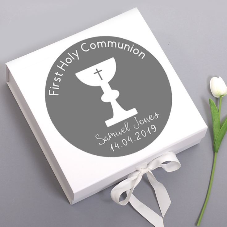 First Holy Communion Personalised Keepsake Box product image