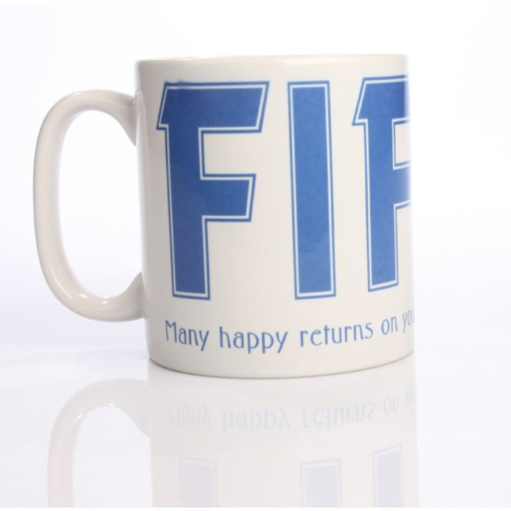 Personalised Fifty Mug product image