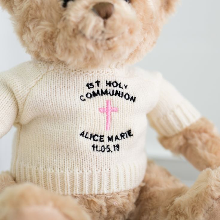 Embroidered First Holy Communion Teddy Bear product image